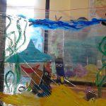 Akwarium-zajecia plastyczne.