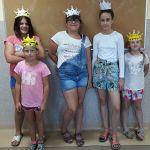 Piękne księżniczki i dzielni rycerze.